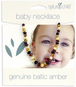 Child and baby Amber necklace